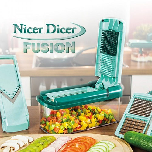 genius nicer dicer fusion set 13tlg 2566. Black Bedroom Furniture Sets. Home Design Ideas