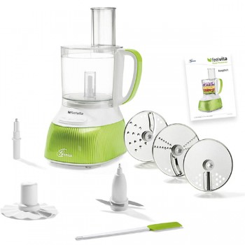 Feelvita Food Processor 12-teilig - 11 Funktionen in einem