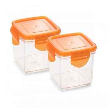 Nicer Dicer Quick Auffangbehälter Set 4-tlg. orange