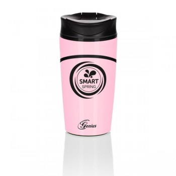Genius® Smart Spring Trinkflasche 300 ml Rosa